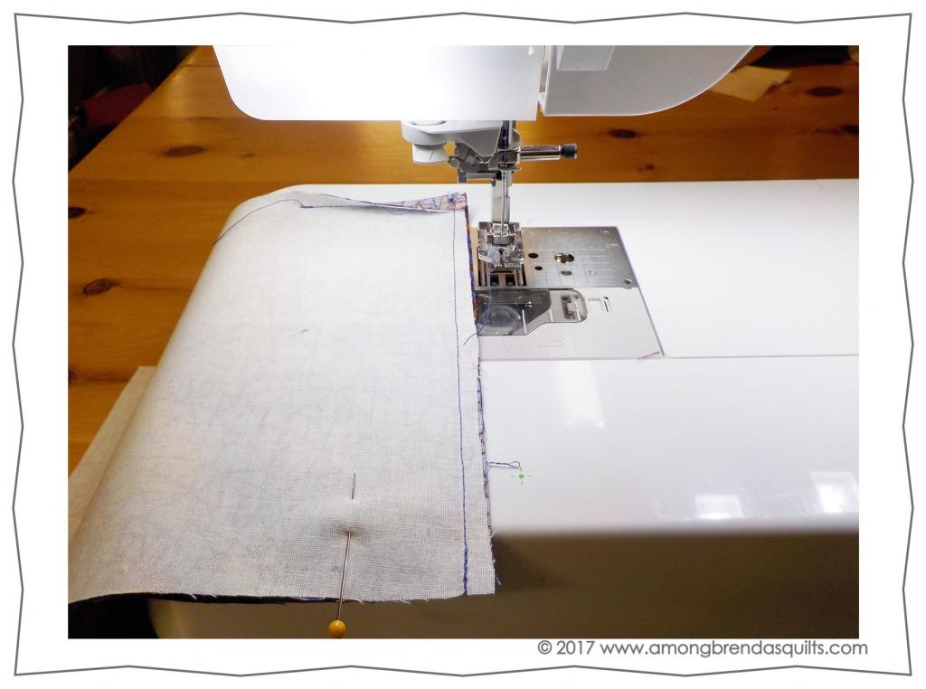 sewn seam
