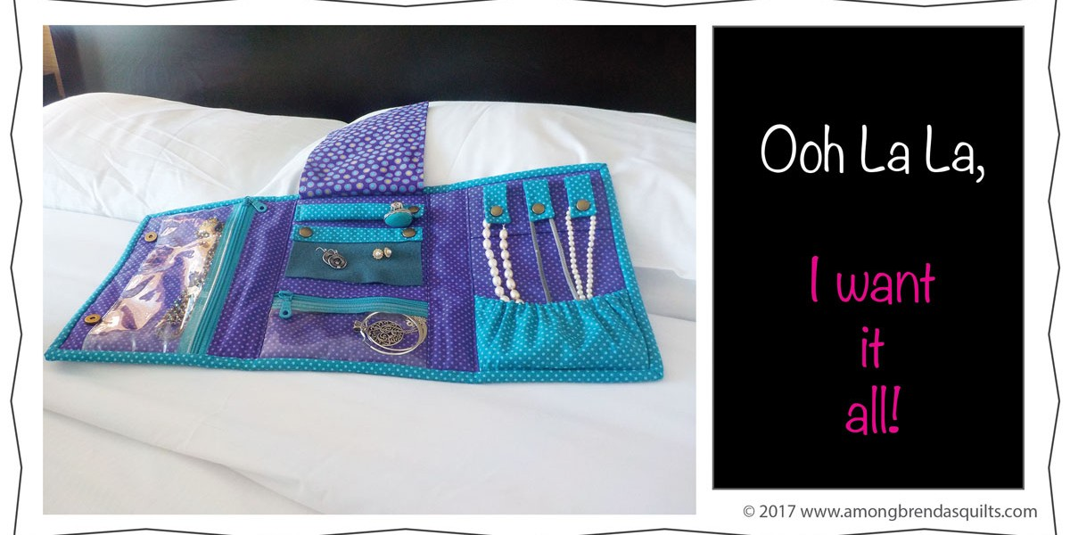 Ooh La La is a Jewelry Travel Bag and Organizer
