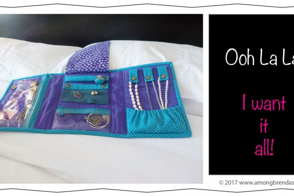 Ooh La La is a Jewelry Travel Bag and Organizer