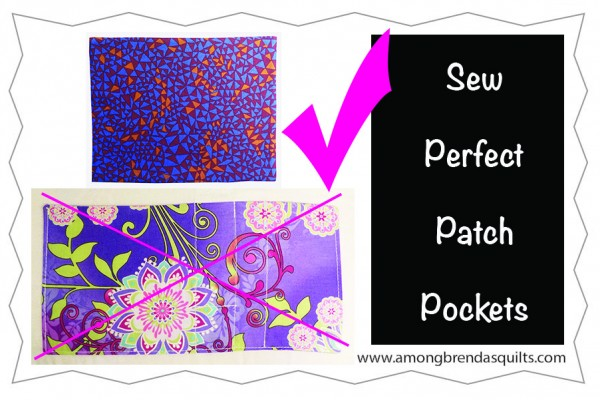 Sew Perfect Patch Pocket Corners