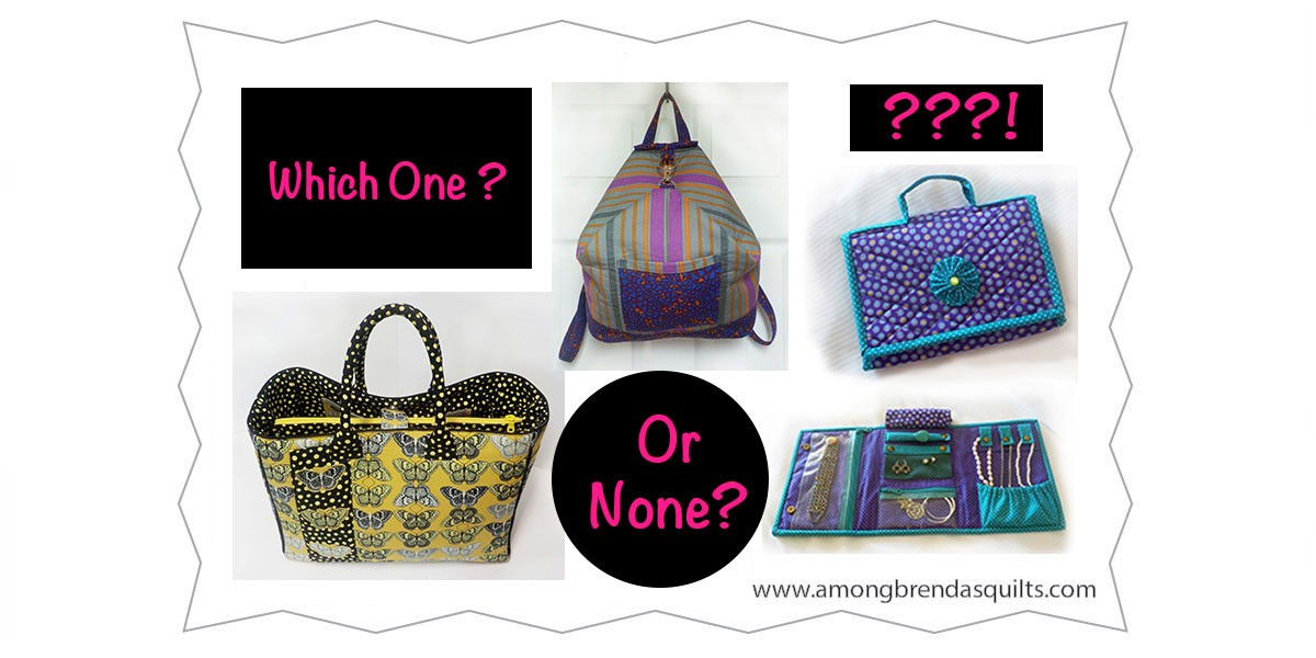 New Bag Pattern To Be Featured In AQ Magazine