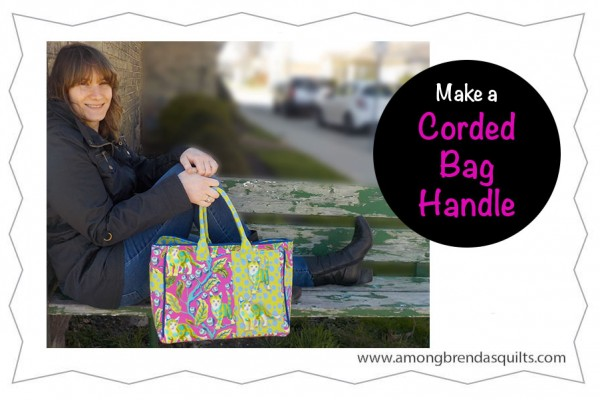 How to Make a Purse Handle With Cording