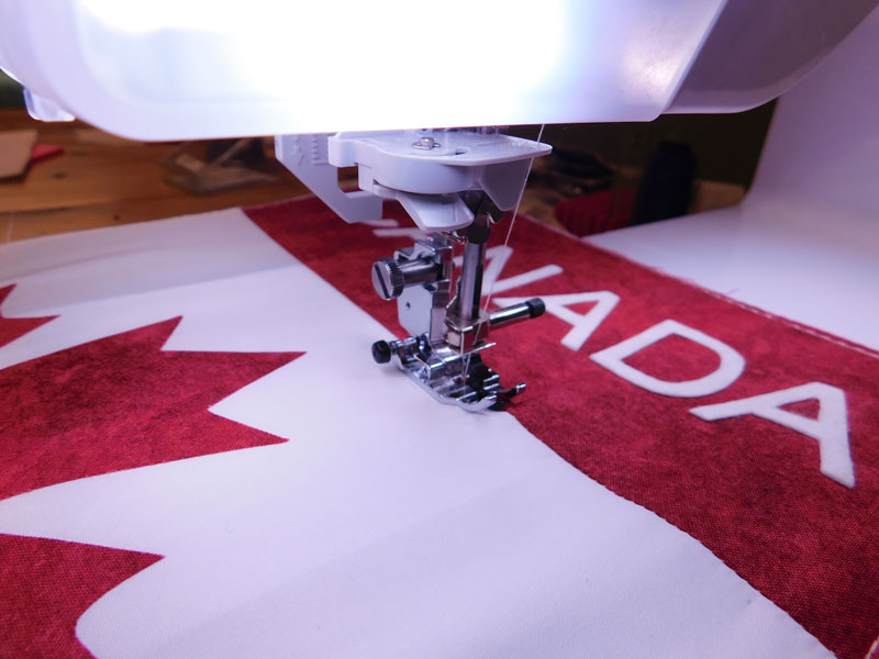Sewing-maple-leaf