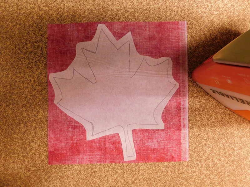 press-maple-leaf