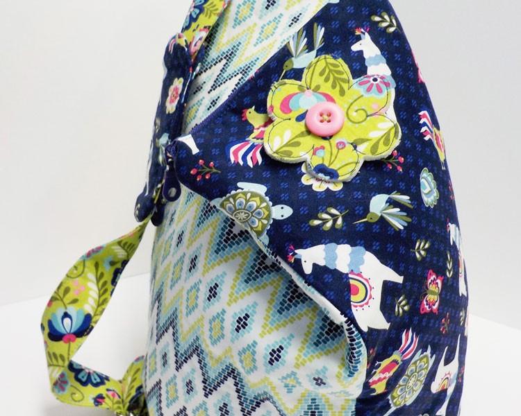 Bag Pattern, The Zip & Flip, in American Quilter Magazine